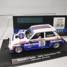 Slot Cars: FLY RENAULT 5 TURBO RALLY COSTA BRAVA 1985 REF. 88094. Lote 170810188