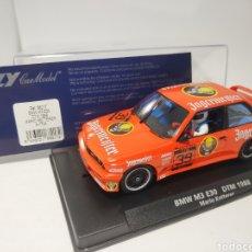 Slot Cars: FLY BMW M3 E30 DTM 1988 MARIO KETTERER REF. 88217. Lote 170912232