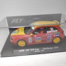 Slot Cars: FLY ALFA ROMEO 147 GTA CUP CHALLENGE 2004 REF. 88197. Lote 171004660
