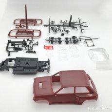 Slot Cars: RENAULT 5 TURBO - FLY SLOT - PRUEBA DE MOLDE - GRANATE. Lote 126441707