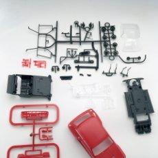 Slot Cars: RENAULT 5 TURBO - FLY SLOT - PRUEBA DE MOLDE - ROJO. Lote 126442503