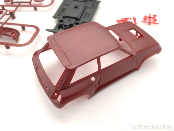 Slot Cars: Renault 5 Turbo - FLY slot - PRUEBA DE MOLDE - Granate - Foto 8 - 126441315