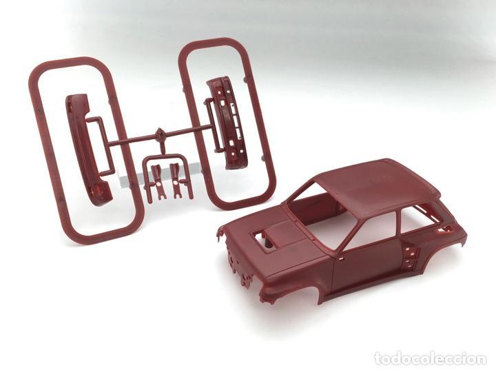 CARROCERÍA RENAULT 5 TURBO - FLY SLOT - PRUEBA DE MOLDE - GRANATE (5) (Juguetes - Slot Cars - Fly)