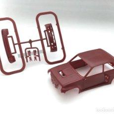 Slot Cars: CARROCERÍA RENAULT 5 TURBO - FLY SLOT - PRUEBA DE MOLDE - GRANATE (5). Lote 171415508