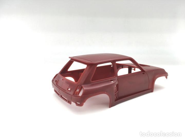 Slot Cars: Carrocería Renault 5 Turbo - FLY slot - PRUEBA DE MOLDE - Granate (5) - Foto 3 - 171415508