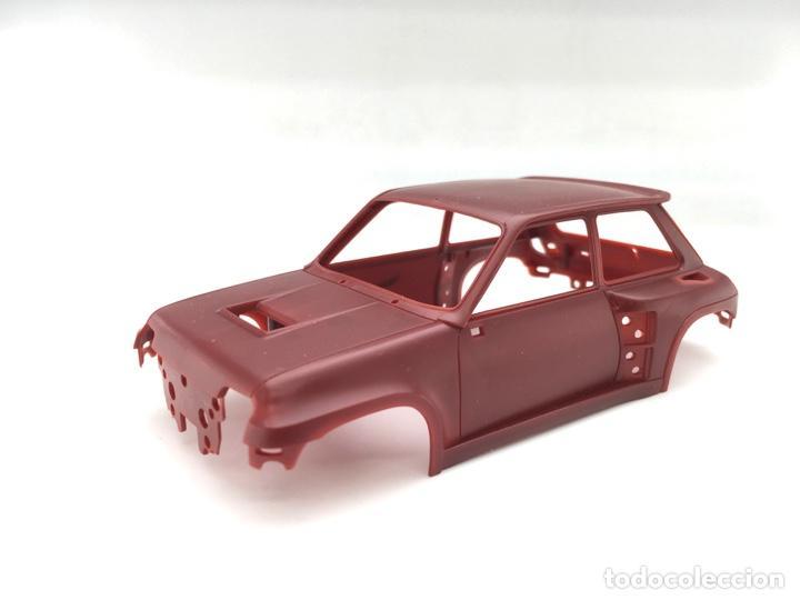 Slot Cars: Carrocería Renault 5 Turbo - FLY slot - PRUEBA DE MOLDE - Granate (5) - Foto 4 - 171415508