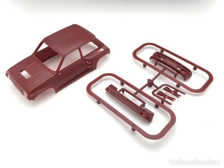 Slot Cars: Carrocería Renault 5 Turbo - FLY slot - PRUEBA DE MOLDE - Granate (5) - Foto 7 - 171415508