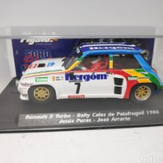 Slot Cars: FLYSLOT RENAULT 5 TURBO RALLY CALES DE PALAFRUGELL 1986 FLY REF. 037303. Lote 171441688
