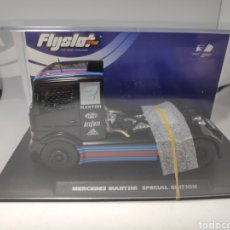 Slot Cars: FLYSLOT MERCEDES BENZ TRUCK MARTINI SPECIAL EDITION FLY REF. 202312. Lote 171635019