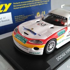 Slot Cars: FLY CAR MODEL DODGE VIPER GTS-R A1 RING 98. NUEVO, EN URNA.VÁLIDO SCALEXTRIC. . Lote 171708105