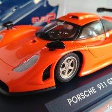 Slot Cars: FLY CAR MODEL PORSCHE 911 GT1 98 RACING EVO REF 07002, NUEVO EN URNA.VÁLIDO SCALEXTRIC. Lote 171709727