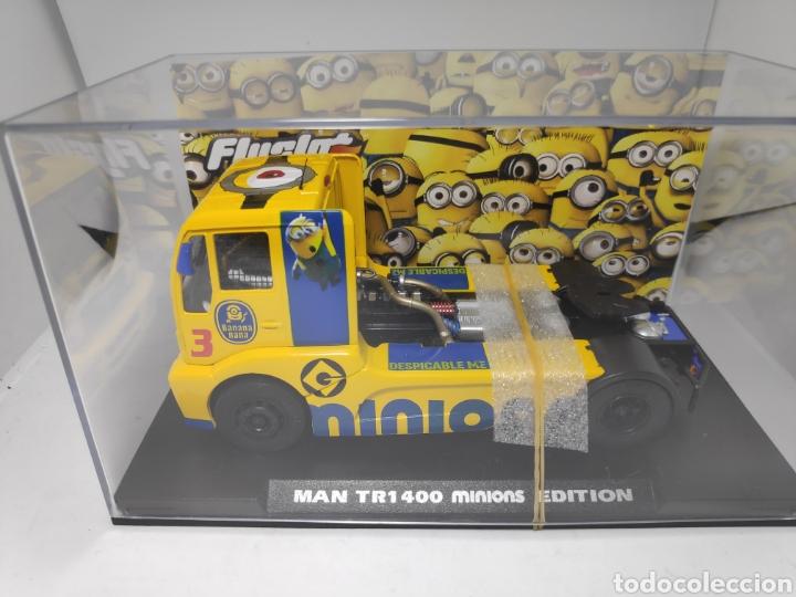 FLYSLOT MAN 1400 TR MINIONS ESPECIAL EDITION REF. 203109 FLY 100 UNIDADES (Juguetes - Slot Cars - Fly)
