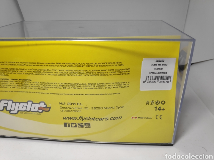 Slot Cars: FLYSLOT MAN 1400 TR MINIONS ESPECIAL EDITION REF. 203109 FLY 100 unidades - Foto 3 - 171830047