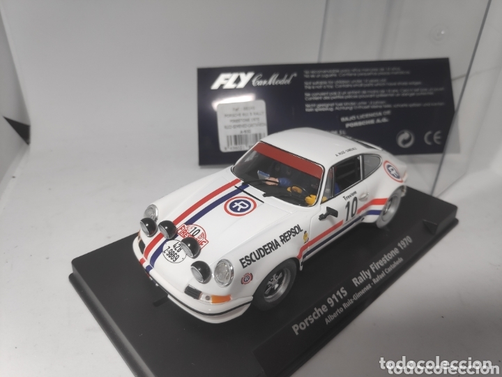 PORSCHE 911S FLY RALLY FIRESTONE 1970 A932 REF. 88145 (Juguetes - Slot Cars - Fly)