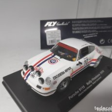 Slot Cars: PORSCHE 911S FLY RALLY FIRESTONE 1970 A932 REF. 88145. Lote 173492298