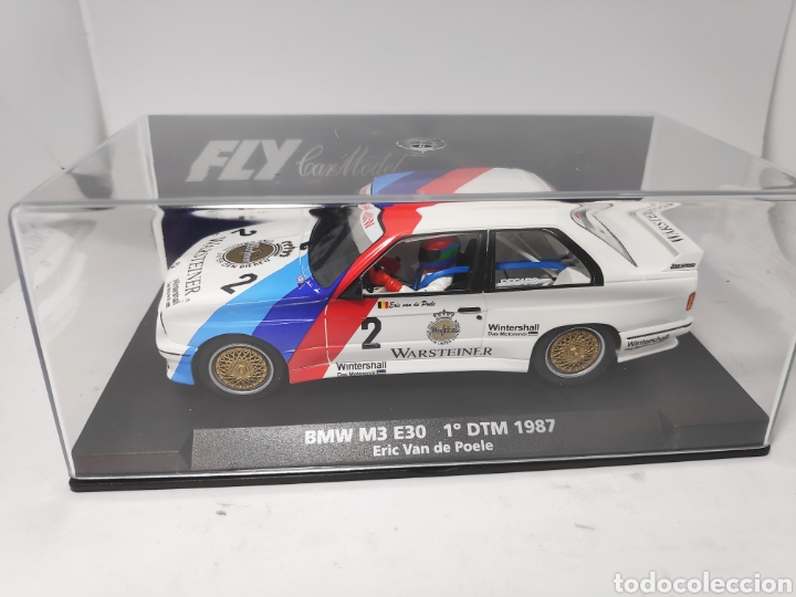 FLY BMW M3 E30 1°DTM 1987 REF. 88212 (Juguetes - Slot Cars - Fly)