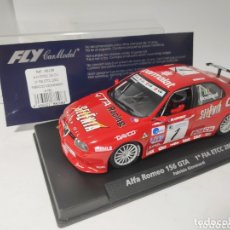 Slot Cars: FLY ALFA ROMEO 156 GTA 1° FIA ETCC 2002 REF. 88108. Lote 174187195