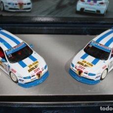 Slot Cars: CAJA ALFA ROMEO 147 GTA CUP. Lote 175352937