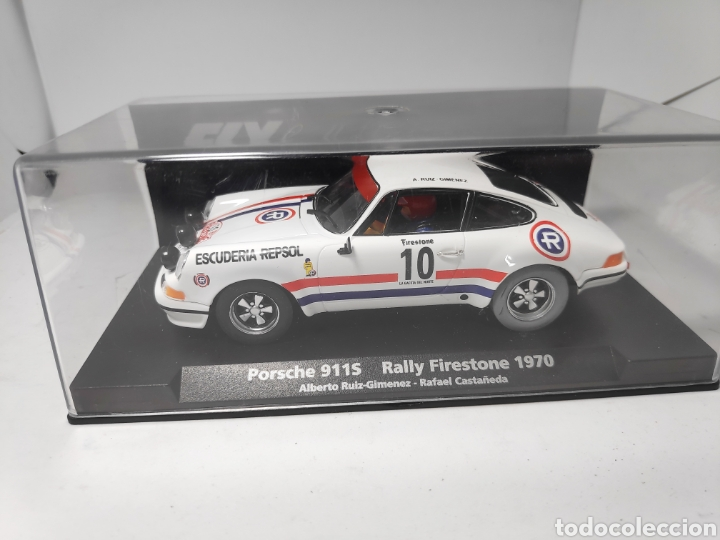 FLY PORSCHE 911 S RALLY FIRESTONE 1970 REF. 88145 (Juguetes - Slot Cars - Fly)