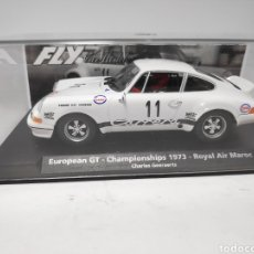 Slot Cars: FLY PORSCHE 911 CARRERA RS ROYAL AIR MAROC REF. 96070. Lote 198852230