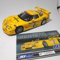 Slot Cars: FLY CORVETTE C5R CRIN. Lote 175853132