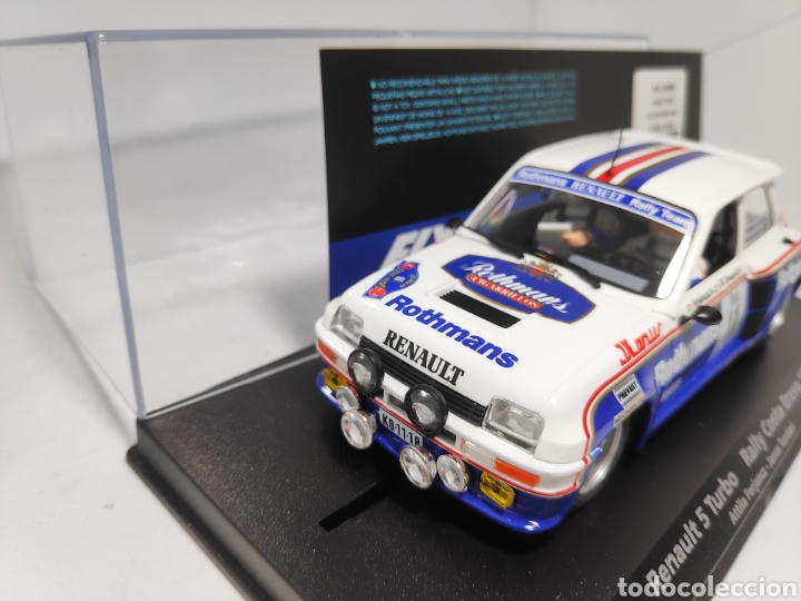 Slot Cars: FLY RENAULT 5 TURBO RALLY COSTA BRAVA 1985 REF. 88094 ROTHMANS - Foto 2 - 175856184