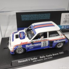 Slot Cars: FLY RENAULT 5 TURBO RALLY COSTA BRAVA 1985 REF. 88094 ROTHMANS. Lote 175856184