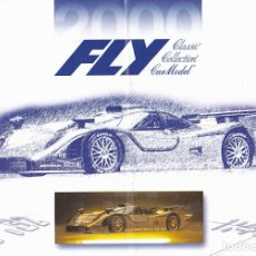 Slot Cars: CATALOG COCHES FLY AÑO 2000. Lote 175965023