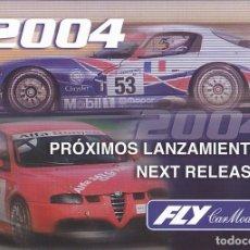 Slot Cars: CATALOGO COCHES FLY 2004. Lote 175965104