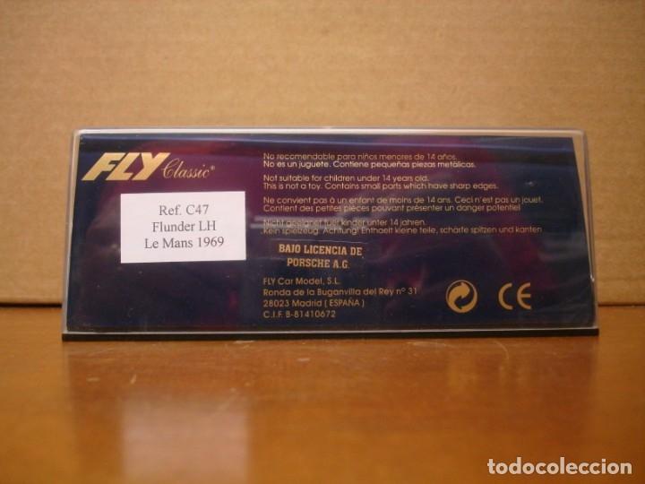 Slot Cars: FLY PORSCHE 908 LE MANS 1969 REF. C-47 NUEVO CON SU CAJA ORIGINAL - Foto 8 - 176540467