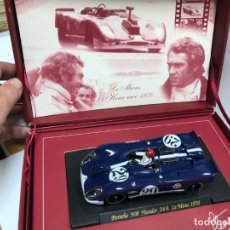 Slot Cars: COCHE SLOT FLY PORSCHE 908 THUNDER 24 LE MANS 1970 FLY CLASSIC STEVE MC QUEEN COLLECTION. Lote 177891494