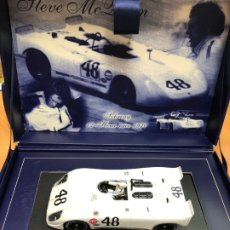 Slot Cars: COCHE SLOT FLY PORSCHE 908 THUNDER 2º FLY 12 H SEBRING 1970 CLASSIC STEVE MC QUEEN COLLECTION. Lote 177893862