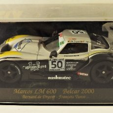 Slot Cars: SLOT FLY CAR MODEL MARCOS LM 600. Lote 178110599