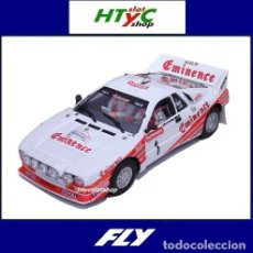 Slot Cars: FLY LANCIA 037 #1 TOUR FRANCE AUTOMOBILE 1983 DARNICHE / MAHÉ EMINENCE ROTHMANS TOTAL A2008. Lote 178378175