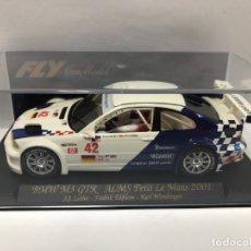 Slot Cars: COCHE SLOT BMW M3 GTR ALMS PETIT LE MANS 2001 CON CAJA NUEVO. Lote 178563692