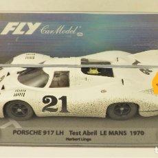 Slot Cars: FLY CAR MODEL PORSCHE 917 LH LE MANS 1970. Lote 178757406
