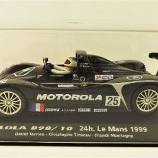 Slot Cars: FLY CAR MODEL LOLA B98 LE MANS 1999. Lote 178757573