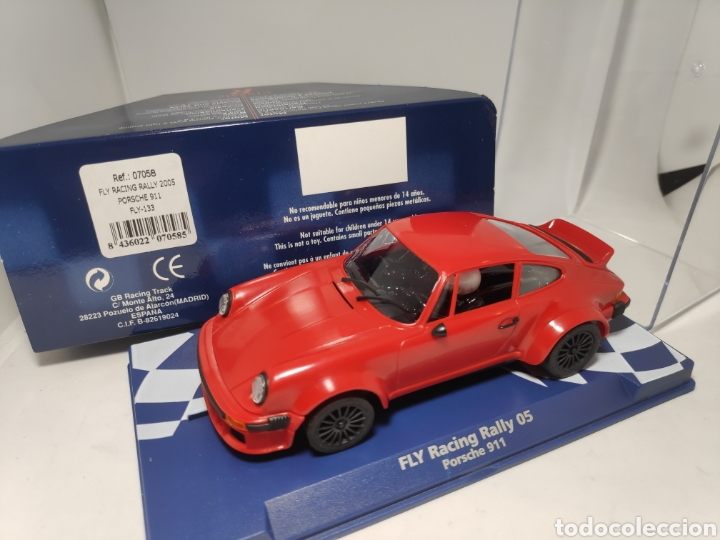 FLY PORSCHE 911 RACING RALLY 2005 REF. 07058 (Juguetes - Slot Cars - Fly)