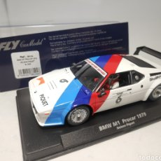 Slot Cars: FLY BMW M1 PROCAR 1979 NELSON PIQUET REF. 88194. Lote 178891030