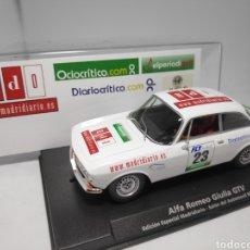 Slot Cars: FLY ALFA ROMEO GIULIA GTV EDICIÓN ESPECIAL MADRIDIARIO. Lote 178891616
