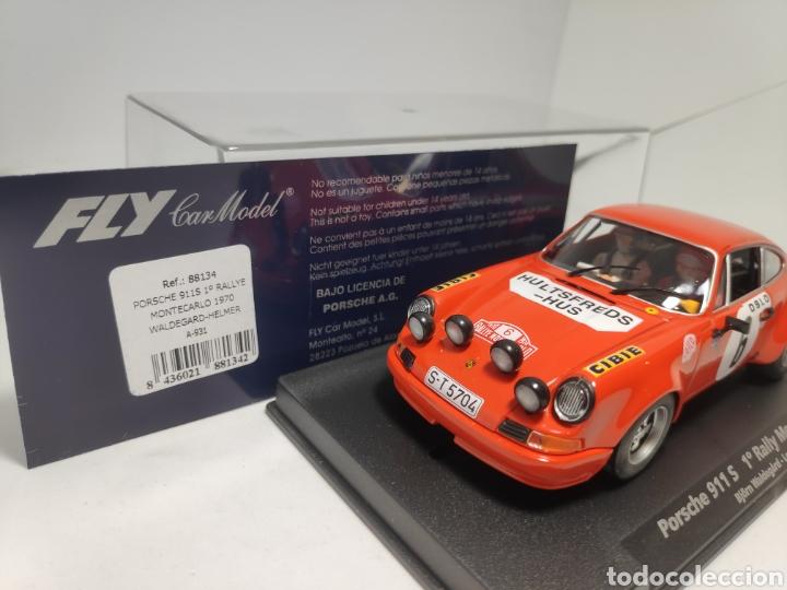 Slot Cars: FLY PORSCHE 911S 1°RALLYE MONTECARLO 1970 REF. 88134 - Foto 2 - 178892802