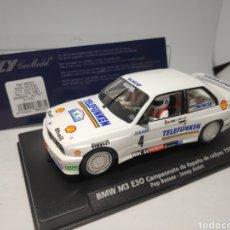 Slot Cars: FLY BMW M3 E30 CTO. ESPAÑA 1987 BASSAS REF. 88203. Lote 207158312