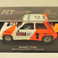 Slot Cars: FLY CAR MODEL EDICIÓN POLY 31º ANIVERSARIO. Lote 178997707