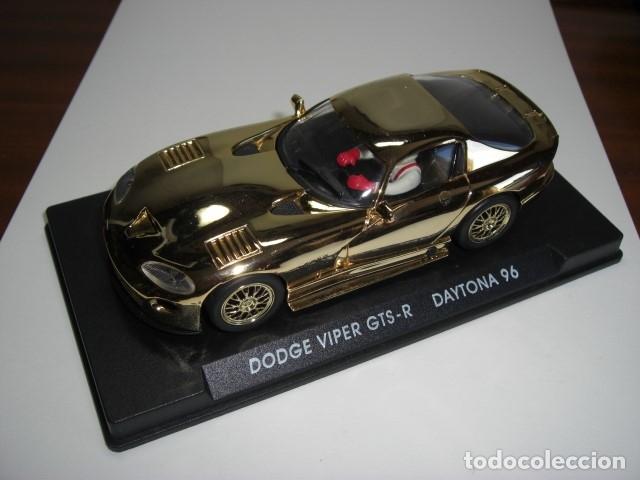 Slot Cars: DODGE VIPER GTS - R. Edición especial ORO - Foto 2 - 179256418