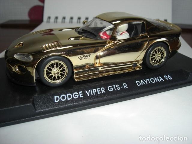 Slot Cars: DODGE VIPER GTS - R. Edición especial ORO - Foto 3 - 179256418