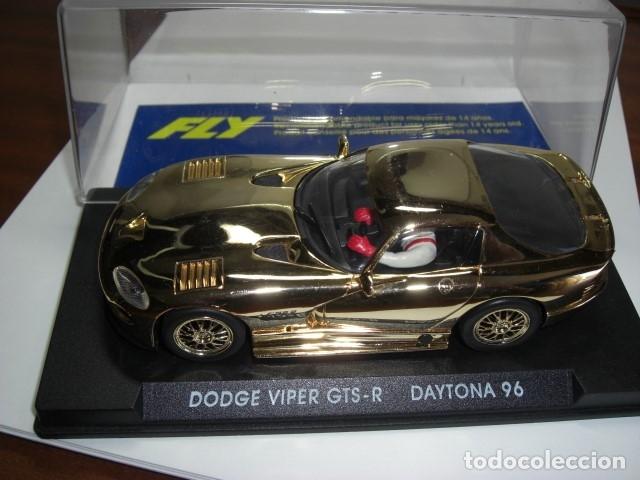 Slot Cars: DODGE VIPER GTS - R. Edición especial ORO - Foto 4 - 179256418