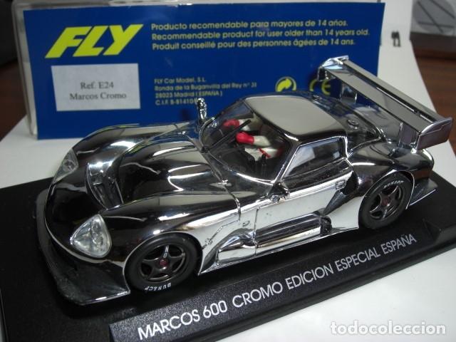 FLY MARCOS 600. CROMO EDICIÓN ESPECIAL ESPAÑA (Juguetes - Slot Cars - Fly)