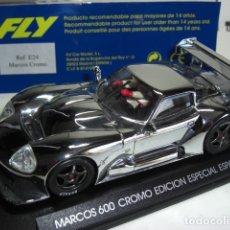 Slot Cars: FLY MARCOS 600. CROMO EDICIÓN ESPECIAL ESPAÑA. Lote 179256927
