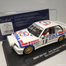 Slot Cars: FLY BMW M3 E30 RALLY MONTECARLO 1989 REF. 88204. Lote 180039070