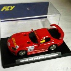 Slot Cars: CHRYSLER VIPER GTS-R BRITISH GT CHAMPION 1998, NUEVO A ESTRENAR. Lote 183453570